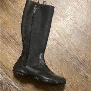 Y-3 Yohji Yamamoto soft leather boots
